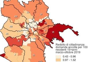 Reddito di Cittadinanza, ecco i quartieri di Roma dove sono state accettate più domande