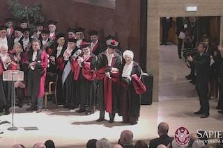 Liliana Segre riceve il dottorato honoris causa all'Università La Sapienza