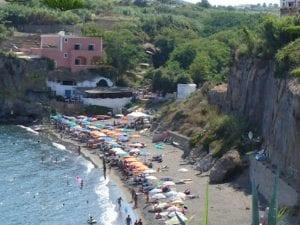 La spiaggia di Calanave
