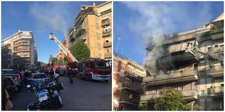 Incendio a Vigna Stelluti, arrestato proprietario appartamento: ha appiccato il fuoco per suicidarsi