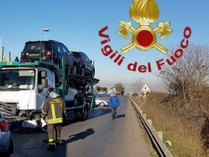 Incidente sulla via Casilina,