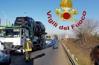 Incidente sulla Casilina, in coma conducente, ha compiuto 30 anni oggi
