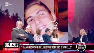 "Sentenza Vannini, Marina e Valerio a 'Chi l'ha visto?': ""Marco adottato da tutta Italia"""