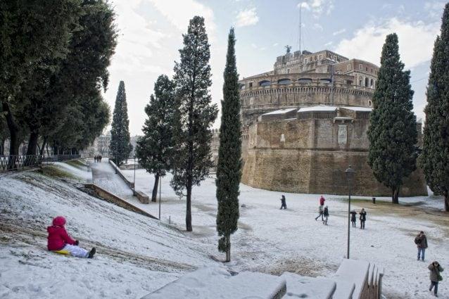 La nevicata a Roma dell'11 febbraio 2012