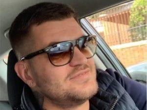 Paolo Pellicciari, 39 anni, morto nell'incidente su via Pontina