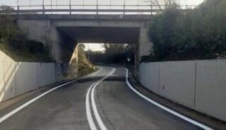 Roma, via Riserva della Torretta riaperta al traffico: era chiusa da sei mesi