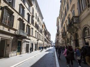 Via del Babuino a Roma