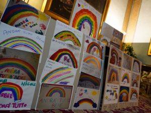 I disegni inviati dai bimbi di Roma alla sindaca Virginia Raggi – Foto Facebook