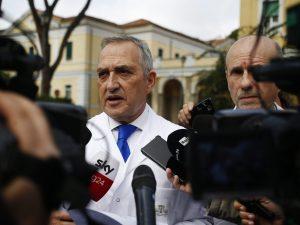 Francesco Vaia, direttore sanitario dell'Istituto Spallanzani–Covid Hospital
