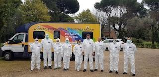 A Roma via ai test rapidi a domicilio con i camper dei medici