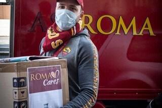 L'idea della Roma: mascherine griffate per andare allo stadio a chi fa l'abbonamento