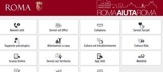 Roma, online sito con tutte le informazioni per cittadini: spesa a domicilio, servizi, numeri utili