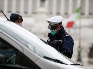 controlli a piazza Venezia, Roma