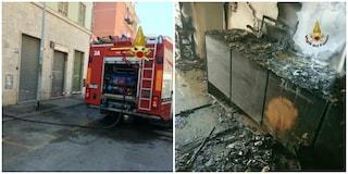 Incendio in una palazzina a San Giovanni: evacuata palazzina in via Latina
