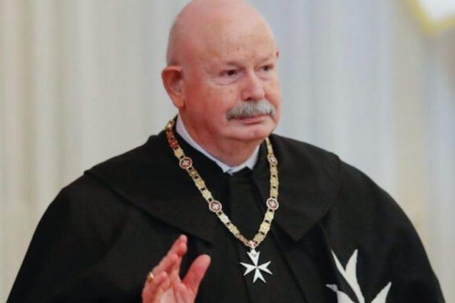 Lutto per l'Ordine di Malta, è morto il Gran Maestro