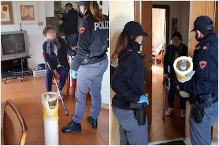 """""""Mi manca la bombola di ossigeno"""": polizia aiuta nonnina di 95 anni e la porta a domicilio"""