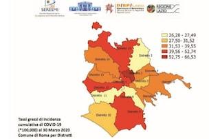 Quali sono i quartieri di Roma con più contagi da coronavirus