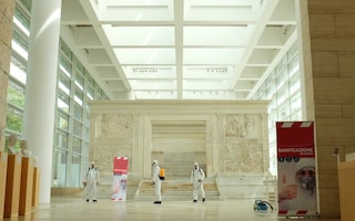 Roma, dal 2 giugno riapre il Museo dell'Ara Pacis dopo sanificazione straordinaria
