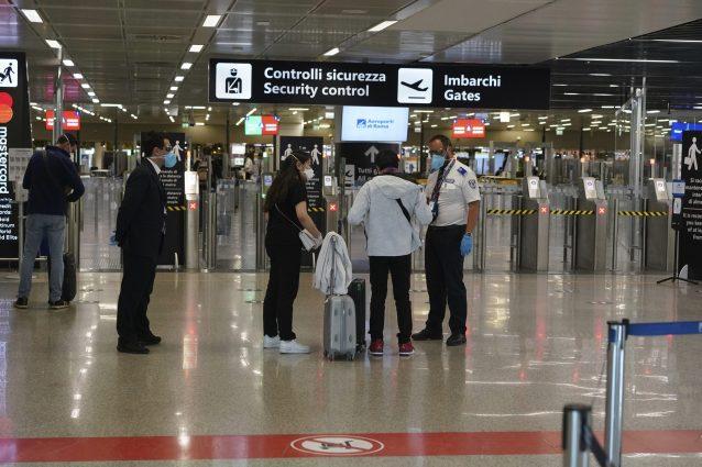 L'aeroporto di Fiumicino durante l'emergenza coronavirus