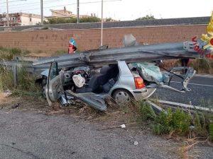 Incidente sulla via Aurelia in direzione di Civitavecchia