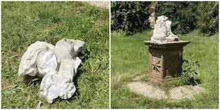 Villa Pamphilj ancora sotto attacco dei vandali: distrutta una statua nella notte