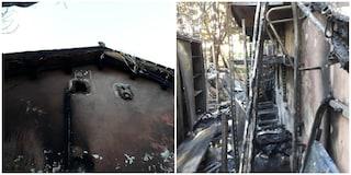 """Incendio a Villa Pamphilj, esterno del Vivi Bistrot devastato dalle fiamme: """"È stato un atto doloso"""""""