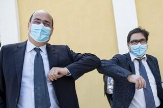 """Zingaretti: """"La mascherina diventi la moda dell'estate, la metteremo fino al vaccino"""""""