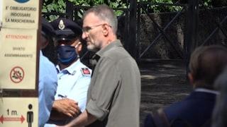 Massimo Carminati questa mattina è al Tribunale di Roma per uno dei processi su Mafia Capitale