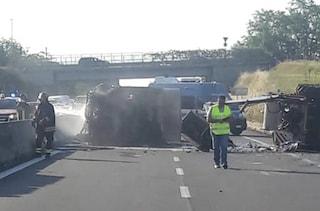 Pontina bloccata, traffico paralizzato per un incidente: 5 chilometri di coda in direzione Roma