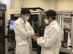 Il ministro Roberto Speranza ha visitato i laboratori di Pomezia dove è stato sviluppato un candidato vaccino anti Covid–19