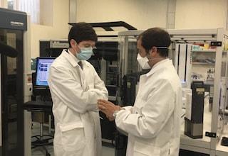 Il ministro Speranza visita laboratori di Pomezia dove si sta testando  il vaccino anti Covid-19