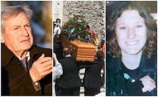 """Applausi e lacrime ai funerali di Guglielmo Mollicone: """"Avrai giustizia per Serena"""""""
