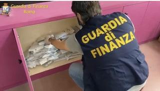 Roma, oltre un milione di prodotti elettrici pericolosi sequestrati dai finanzieri in un deposito