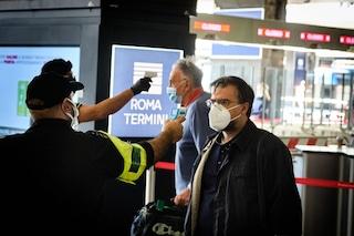 Positivo al coronavirus scappa dall'ospedale e viaggia tra Latina e Roma