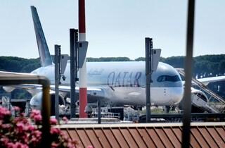 Coronavirus: positivi 5 passeggeri arrivati a Roma con un volo proveniente dal Qatar
