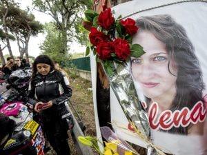 Il luogo dove è morta Elena Aubry su via Ostiense