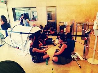 """Precari occupano la sede di Anpal Servizi: """"654 persone rischiano di rimanere senza lavoro"""""""