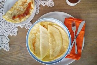 Crepes: la ricetta dell'impasto base per preparare le crepes dolci e salate