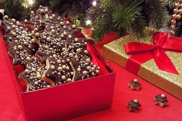 Idee Per Confezionare Biscotti Di Natale.Biscotti Di Natale Regalo