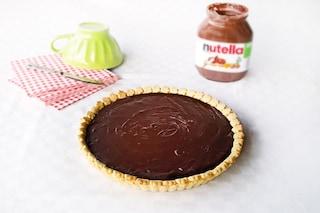 Crostata morbida alla Nutella: la ricetta per farla golosa
