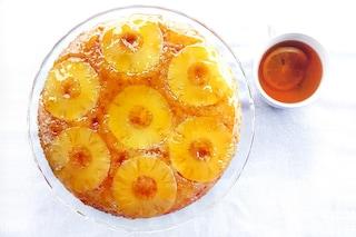 Torta rovesciata all'ananas: la ricetta di un dolce facile e ad effetto