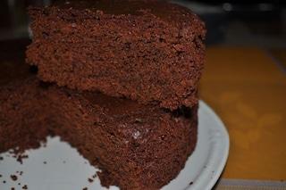 Torta soffice al cacao facile e veloce da preparare