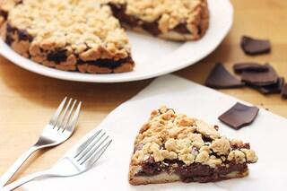 Sbriciolata alla nutella: la ricetta facile di un dolce genuino