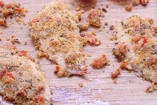 Triglie gratinate al forno: ricetta