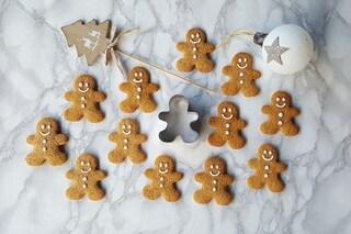 Omini di pan di zenzero: la ricetta originale dei gingerbread man