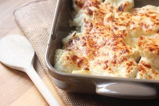Cavolfiore gratinato: la ricetta al forno per gustare i cavolfiori