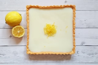 Crostata al limone: la ricetta con crema