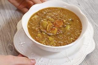 Zuppa di lenticchie: la ricetta tradizionale per l'inverno