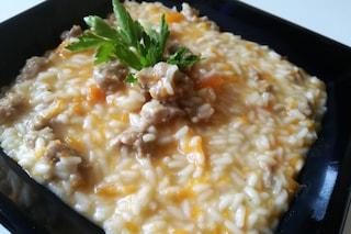 Risotto zucca e salsiccia: la ricetta classica e i consigli