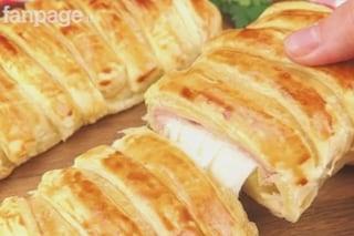 Rustico di pasta sfoglia: la ricetta veloce da preparare